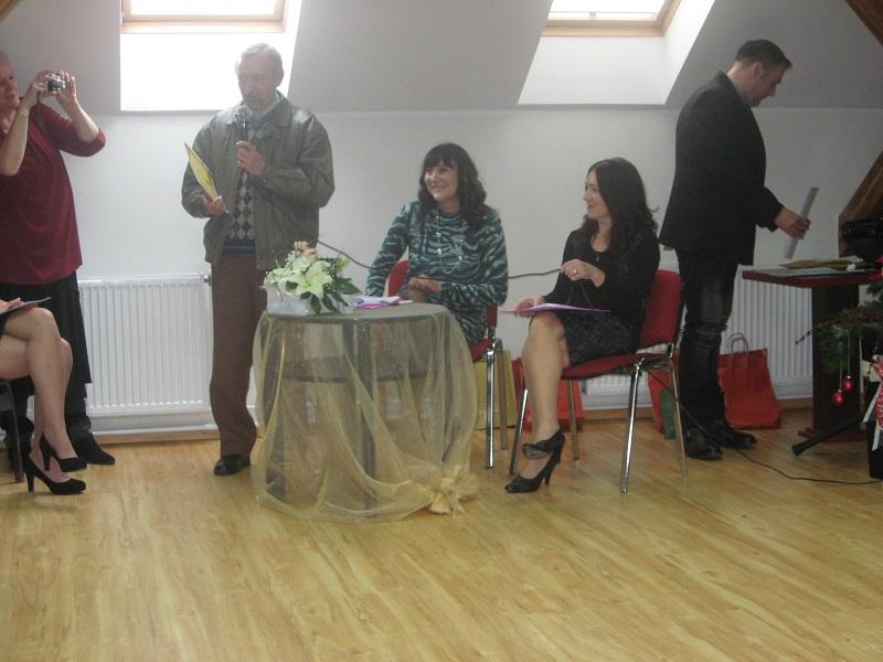 Dušan Džigurski na poslednjem rođendanskom slavlju u bečejskoj biblioteci | Foto: Vlastimir Jankov