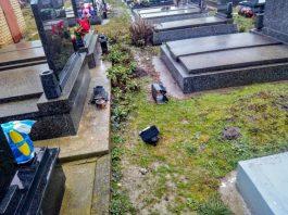 Vandalizam na groblju | Foto: backopetrovoselo.com