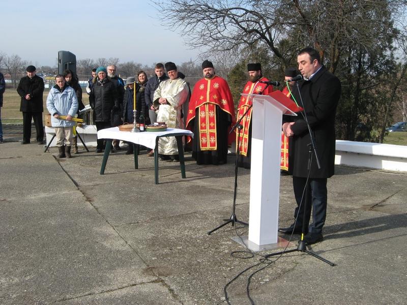 Obraćanje predsednika opštine Bečej Dragana Tošića | Foto: Vlastimir Jankov