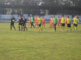 Ovako je počela utakmica u Bačkom Gradištu | Foto: Vlastimir Jankov