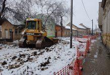 Mehanizacija i sneg u Dositejevoj | Foto: Bojan Pejović