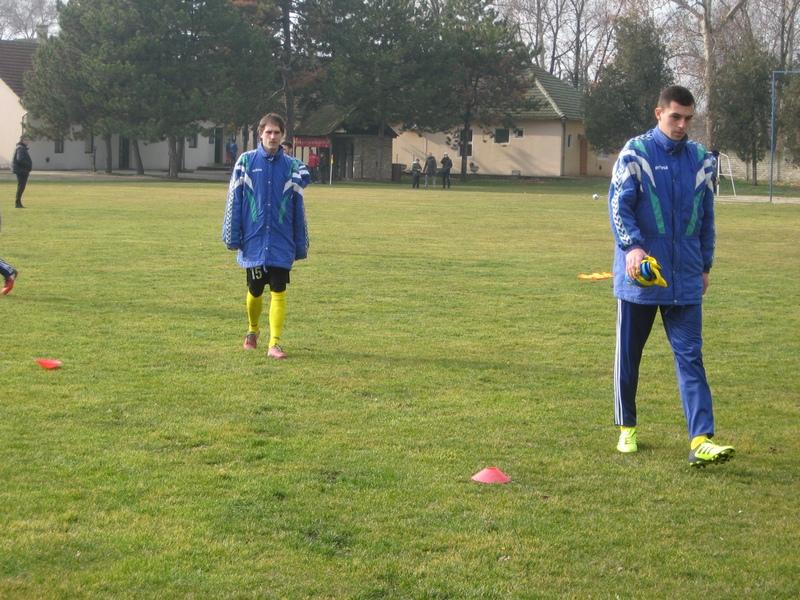 Novajlija mladi Bratislav Jelić i starosedeoc Nemanja Vasin postigli supo dva gola | Foto: Vlastimir Jankov