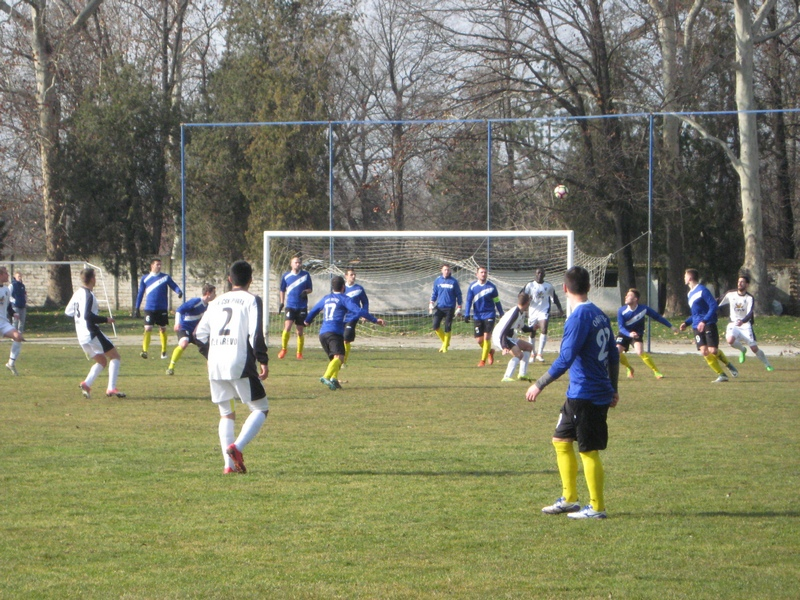 Sa utakmice Bečejaca i Čelarevaca u Bačkom Gradištu | Foto: Vlastimir Jankov