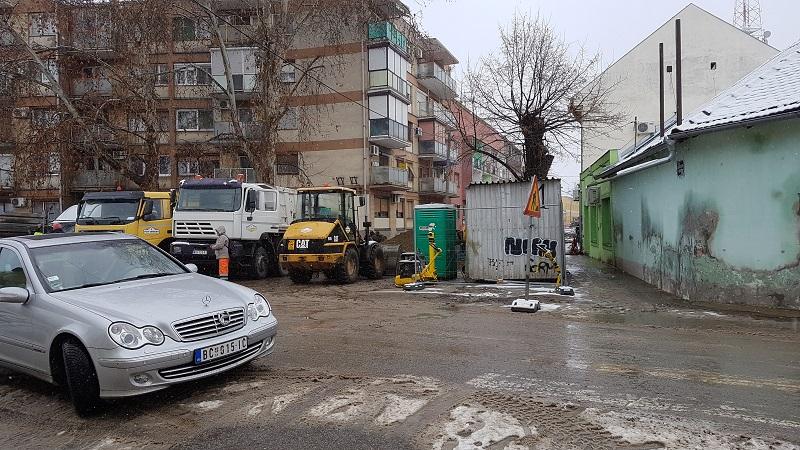 Trg Čilag takođe očekuju građevinski radovi | Foto: Bojan Pejović