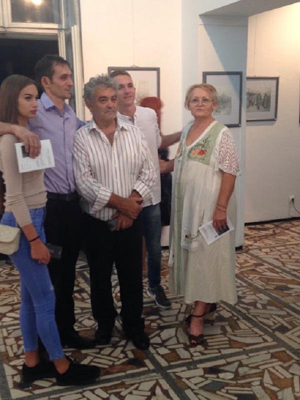 Tri generacije slikarske porodice Mirić u Ruskom domu