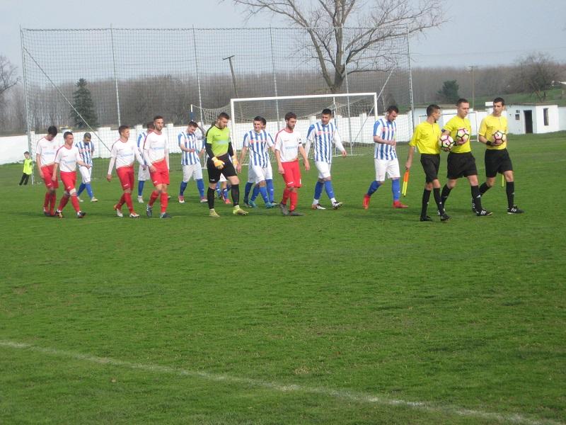 Ovako je počela kup utakmica između Bečejaca i Subotičana | Foto: Vlastimir Jankov