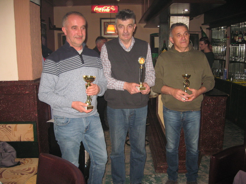 Trojka prvoplasiranih Milan Sekulić, Milorad Ćulum i Tomislav Drapšin | Foto: Vlastimir Jankov