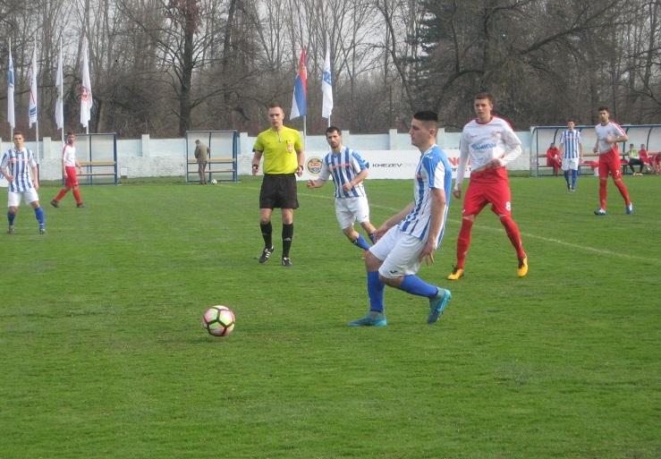 Uglavnom se igralo na sredini terena | Foto: Vlastimir Jankov