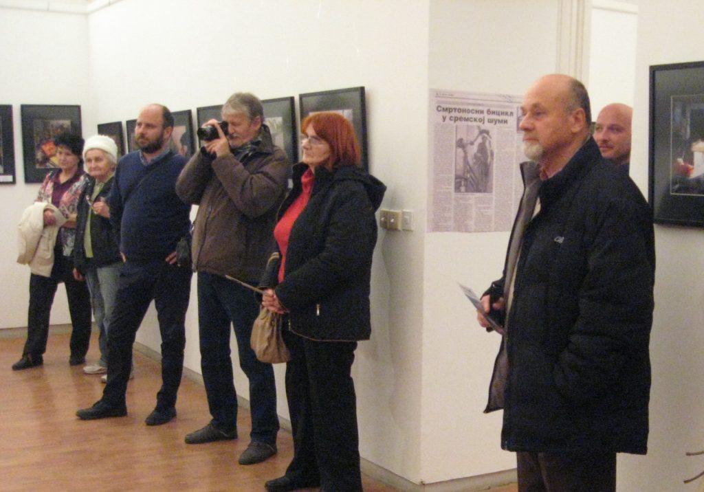 Mali broj posetilaca je prisustvovao svečanom otvaranju, ali izložbu vredi videti | Foto: Vlastimir Jankov
