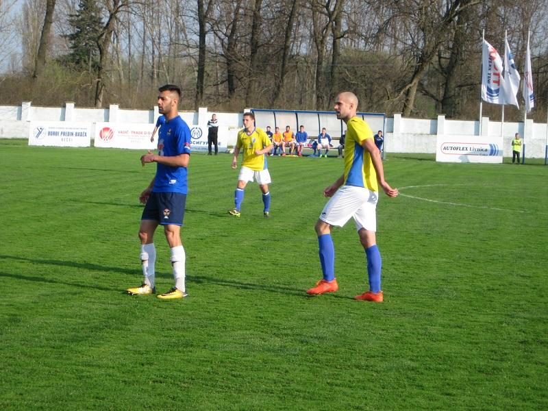Čedomir Tomčić je postigao gol za konačan rezultat u Zrenjaninu | Foto: Vlastimir Jankov