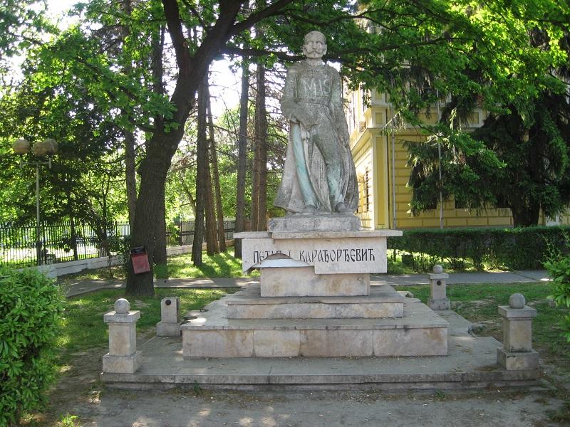 "Današnji izgled spomenika ""čika Peri"" u Bečeju | Foto: Vlastimir Jankov"
