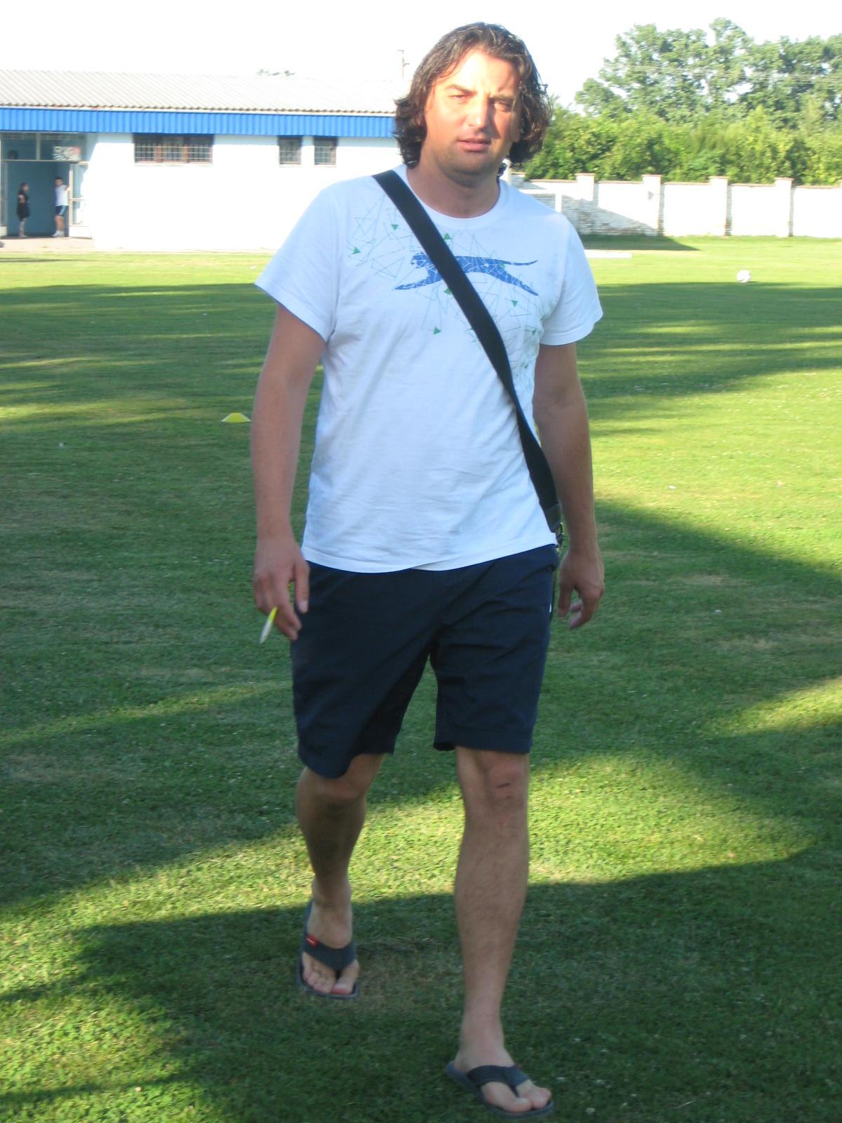 Sportski direktor Bečejaca Dejan Stanojev ima pune ruke posla | Foto: Vlastimir Jankov