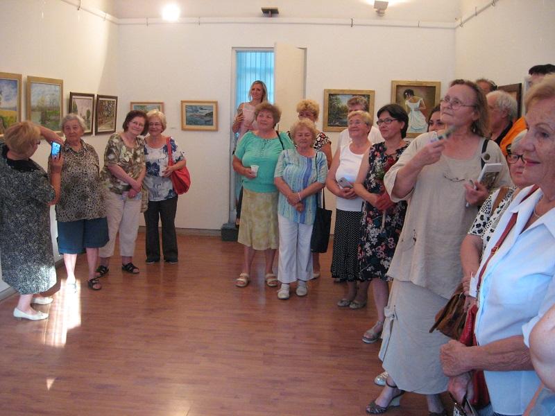 Izložba slikara amatera je po pravilu veoma posećena | Foto: Vlastimir Jankov