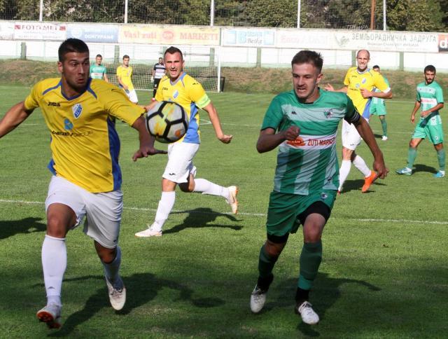 Detalj sa utakmice u Inđiji | Foto: Dnevnik