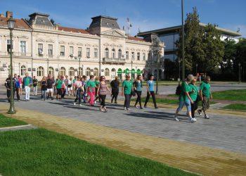 Sa lanjskog obeležavanja Dana pešačenja u Srbiji | Foto: Vlastimir Jankov