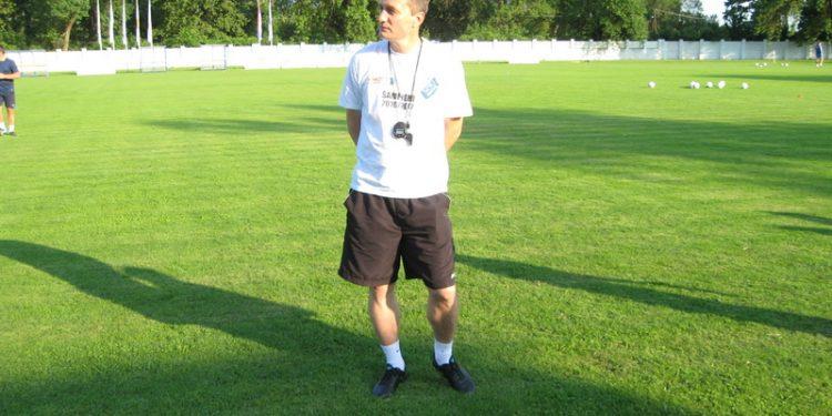 Trener Branko Savić i dalje ima poverenje rukovodstva Bečejaca   Foto: Vlastimir Jankov
