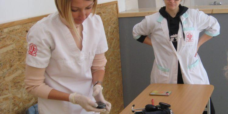 Sa akcije besplatnih medicinskih pregleda Picoderaca | Foto: Vlastimir Jankov