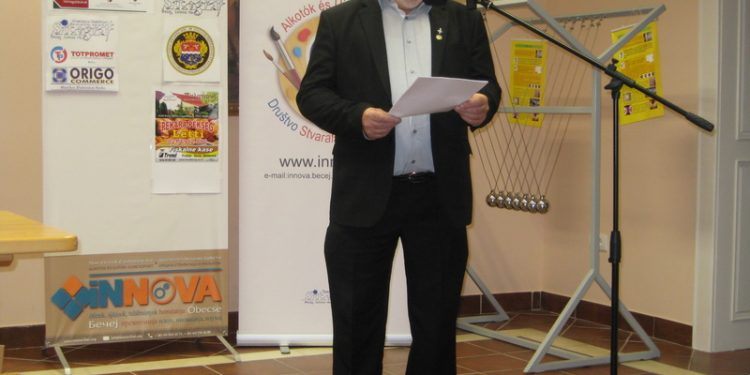 Predsednik Sekcije inovatora i stvaralaca Tibor Dostan | Foto: Vlastimir Jankov