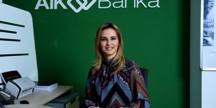 Dragana Slijepčević, direktorka filijale AIK Banke u Bečeju | Foto: AIK Banka