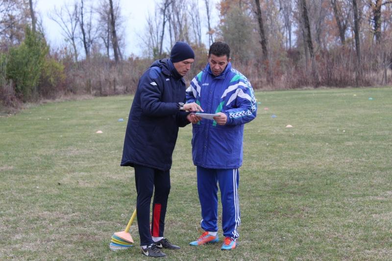 Dogovor Dušana Bajića i Dalibora Novčića na terenu | Foto: Vlastimir Jankov