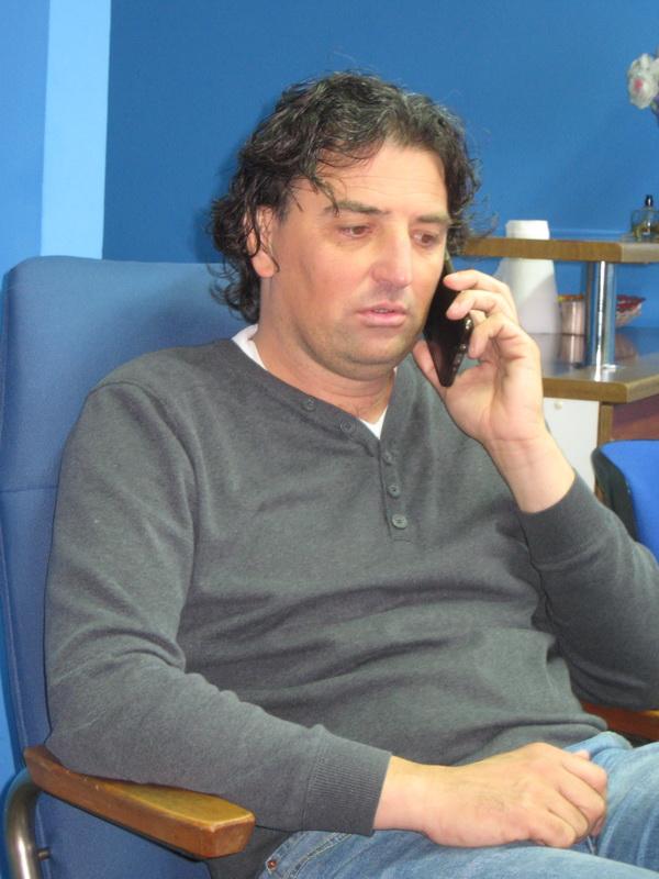 Sportski direktor Dejan Stanojev predvodiće Bečejce i u Beogradu | Foto: Vlastimir Jankov