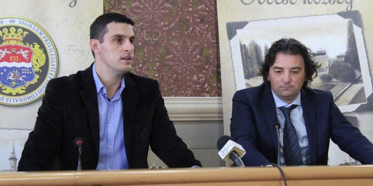 Nikola Džigurski i Dejan Stanojev na pres konferenciji povodom 12. SORV | Foto: Vlastimir Jankov