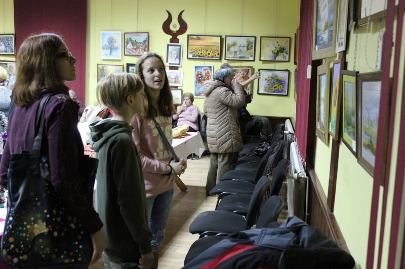 Sugrađani su pokazali interesovanje za slike bečejskih amatera