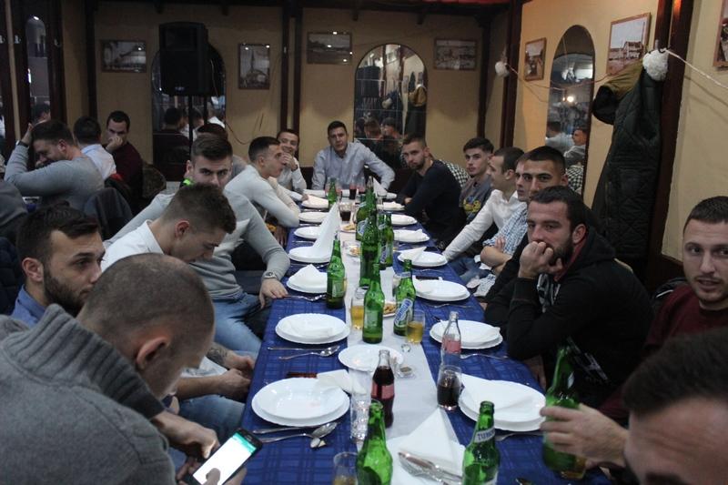 Igrači Bečeja bez dresova na klupskoj proslavi | Foto: Vlastimir Jankov
