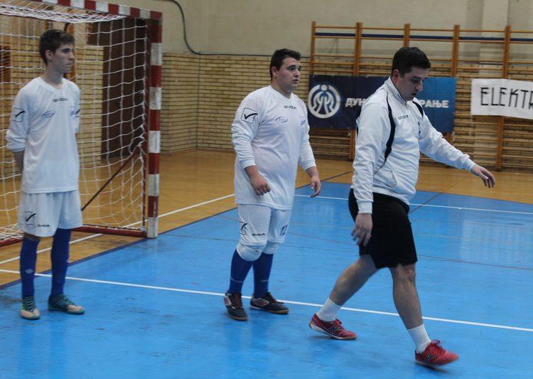 Golmani Lenić i Novakov sa trenerom Zoranom Ćurčićem | Foto: Vlastimir Jankov
