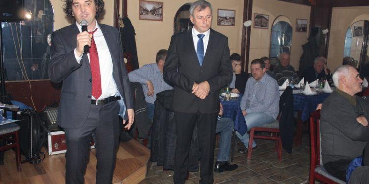 Stožeri prviligaša sa Tise predsednik Dragan Knežev i sportski direktor Dejan Stanojev | Foto: Vlastimir Jankov