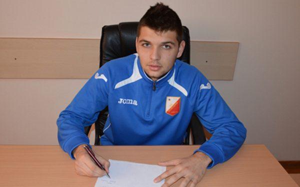 Milovan Petrić je treće pojačanje Bečejaca ovog januara | Foto: FK Vojvodina