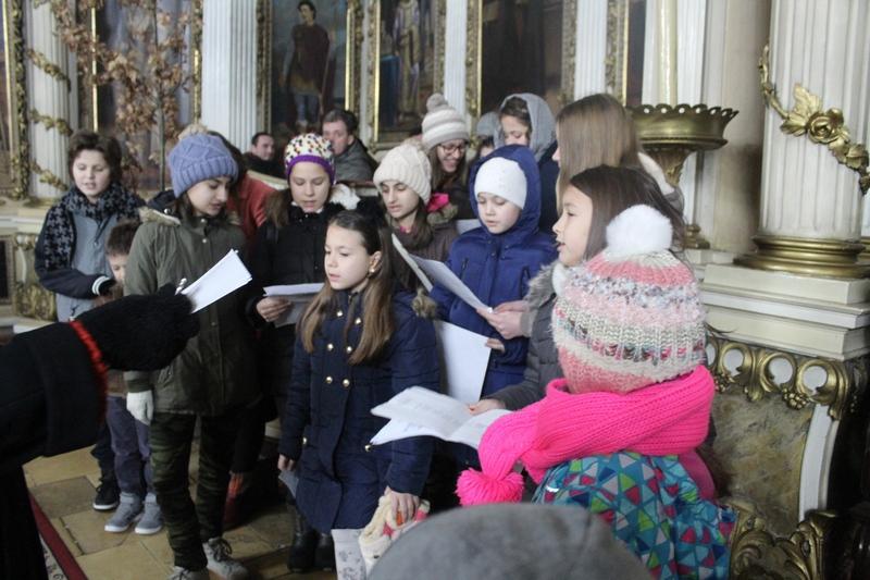 Deca su bila poseban ukras božićnog bogosluženja | Foto: Vlastimir Jankov