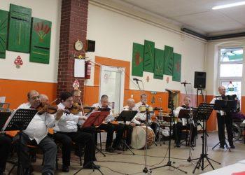 Deo Gradskog orkestra zadužen za svirku...   Foto: Vlastimir Jankov