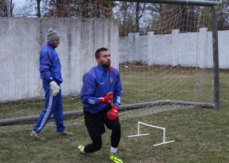 Dobrim odbranama Nemanja Radović i Marko Živkov su sačuvali svoje pozicije ispred mreže | Foto: Vlastimir Jankov