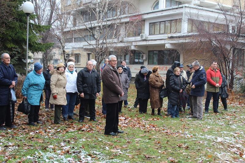 Gradimir Džigurski se prigodnim rečima obratio tužnom skupu | Foto: Vlastimir Jankov