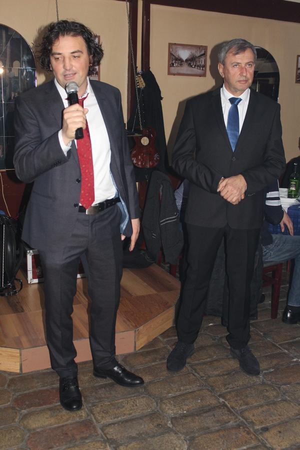 Predsednik Dragan Knežev i sportski direktor Dejan Stanojev su završili jedan posao, predstoje novi | Foto: Vlastimir Jankov