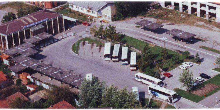 Izgled iz vazduha sadašnje autobuske stanice u Bečeju | Foto Arhiva Bečejprevoz