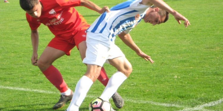 Kosta Dražić je postigao gol i na njemu je bio prekršaj za jedanaesterac   Foto: Vlastimir Jankov