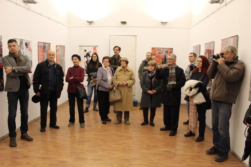 Sa svečanog otvaranja izložbe o Danilu Kišu | Foto: Vlastimir Jankov