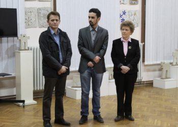 Zoltan Kiš levo zahvalio se domaćinu i brojnim posetiocima izložbe | Foto: Vlastimir Jankov