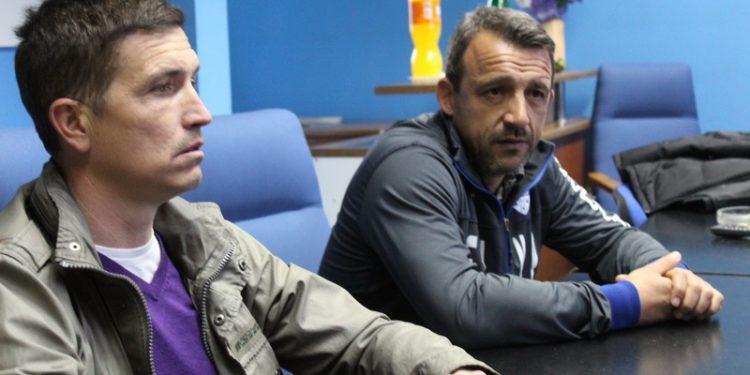 Dušan Bajić i Neško Milovanović će se sresti još jedanput u plej autu   Foto: Vlastimir Jankov