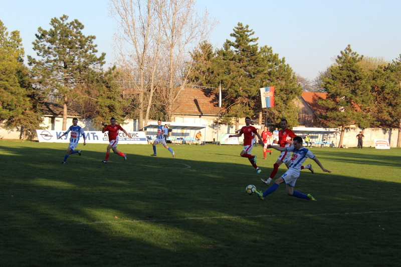 Aleksandar Marjanov je asistirao Ikraševu kod trećeg pogotka | Foto: Vlastimir Jankov