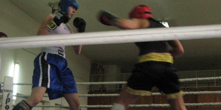 Sa jedne od ranijih bokserskih revija u sali DTV Partizan | Foto: Vlastimir Jankov