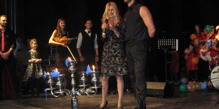 Sanja Bašić i Dušan Sekulić sa lanjskog koncerta | Foto: Vlastimir Jankov