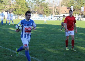 Aleksandar Marjanov je postigao tri gola u Novom Kneževcu | Foto: Vlastimir Jankov