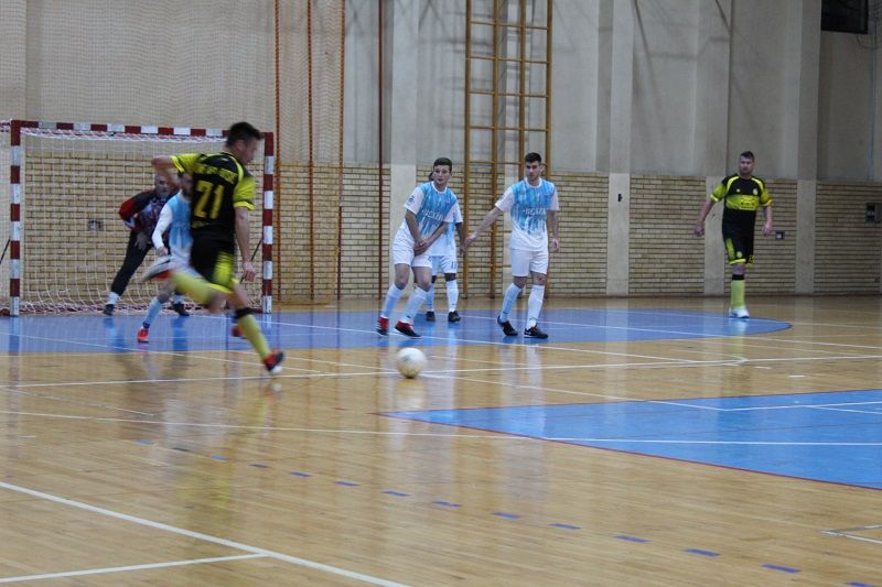 Momenat s utakmice Tisa – APA Futsal