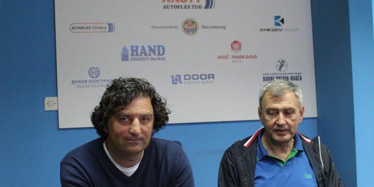 Dosadašnji vodeći tandem bečejskog fudbala, sportski direktor Dejan Stanojev i predsednik Dragan Knežev | V. Jankov