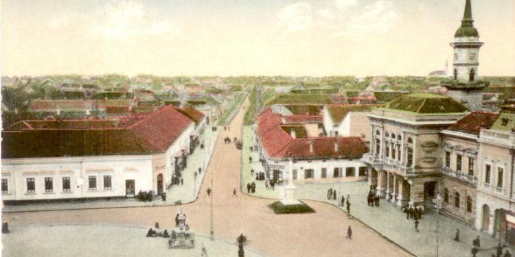Prestižna kuća s leve strane trga iz 1916. godine | Foto: Vlastimir Jankov