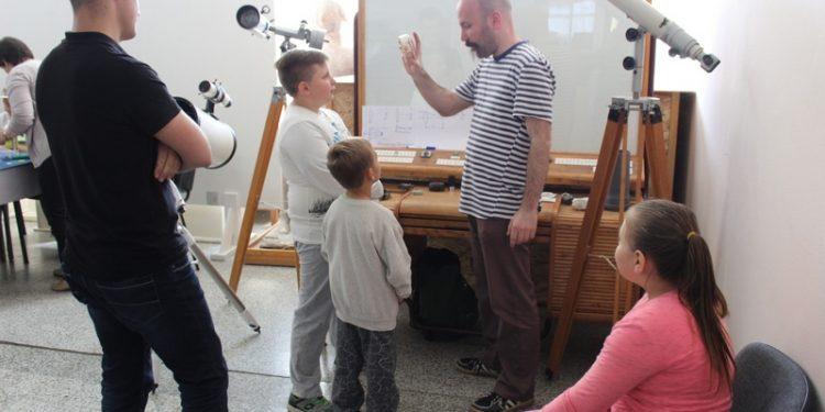 Deca su bila posebno zainteresovana za durbine