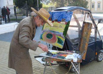 Maestro s kičicom u ruci otkriva i književni talenat   Foto: Vlastimir Jankov